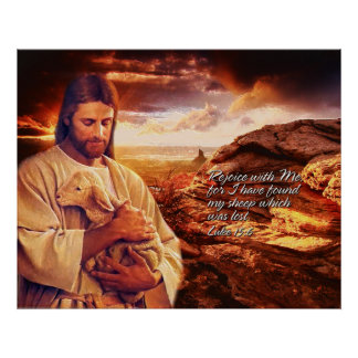 Rejoice with me.. Luke 15:6  Print