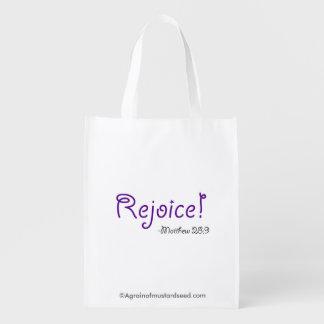 Rejoice Reusable Grocery Bags