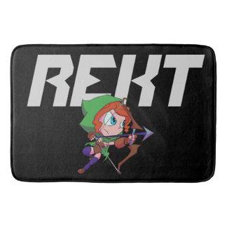 REKT Bath Mat