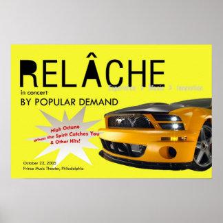 Relache by Popular Demand Concert Poster