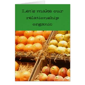 Relationship/Dating - Let's make our relationship Card