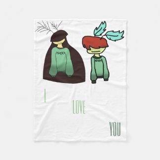 relationship goals blankie fleece blanket