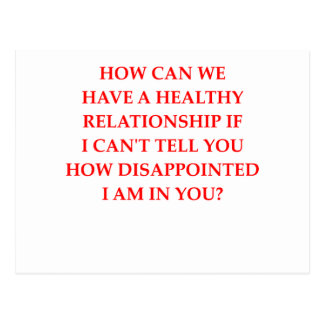 relationship postcard