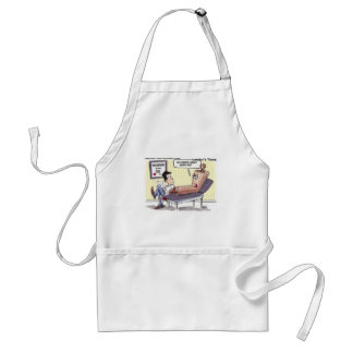 Relationship/Psychology Cartoon Funny Gifts Standard Apron