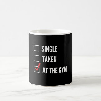Relationship Status Gym Basic White Mug