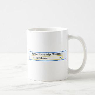 Relationship Status It's Complicated Design Mugs