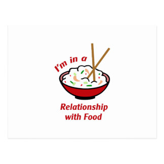 RELATIONSHIP WITH FOOD POSTCARD