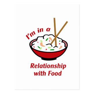 RELATIONSHIP WITH FOOD POST CARDS