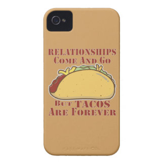 Relationships Come And Go But Tacos Are Forever iPhone 4 Case
