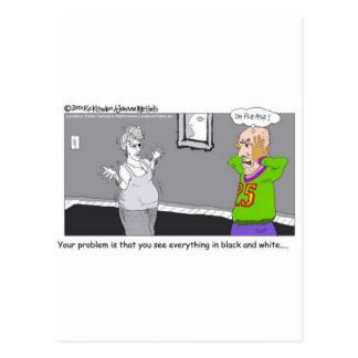 Relationships Oh Boy!! Funny Cards, Mugs & Gifts Postcard