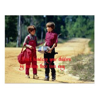 Relationships Postcard