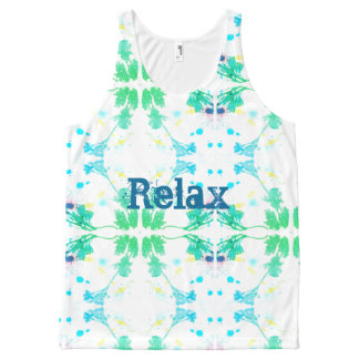Relax All-Over Print Singlet