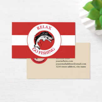 RELAXANDGO FISHING BUSINESS CARD