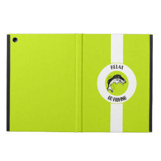 RELAX AND GO FISHING CASE FOR iPad AIR