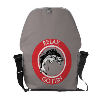RELAX AND GO FISHING COMMUTER BAG