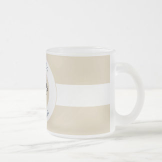 RELAXANDGO FISHING FROSTED GLASS COFFEE MUG