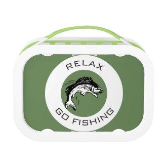 RELAXANDGO FISHING LUNCH BOX