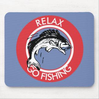 RELAXANDGO FISHING MOUSE PAD