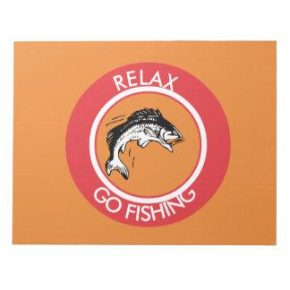 RELAXANDGO FISHING NOTEPAD