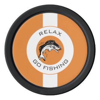 RELAXANDGO FISHING POKER CHIPS