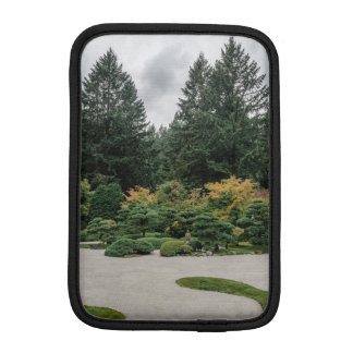 Relax at a Japanese Garden iPad Mini Sleeve