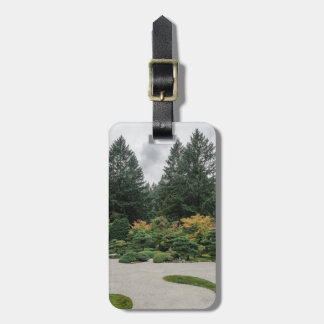 Relax at a Japanese Garden Luggage Tag