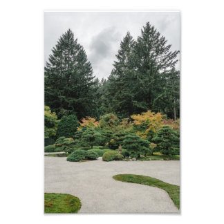 Relax at a Japanese Garden Photo Print