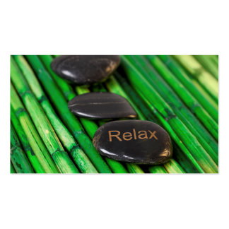 Relax Pack Of Standard Business Cards
