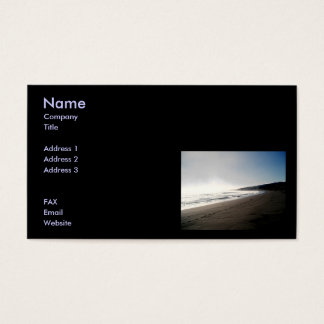 Relax Business Card Template