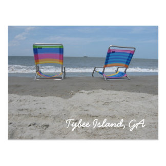 Relax by the beach postcard