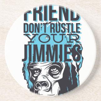 relax friends don't rustle, monkey coaster