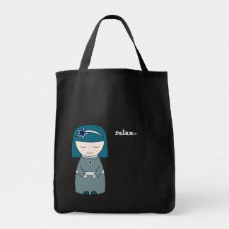 Relax geisha - dark Bag