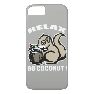 Relax! Go Coconut iPhone 7 Case