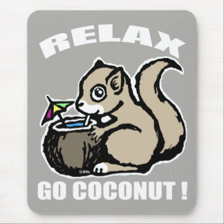 Relax! Go Coconut Mouse Pad