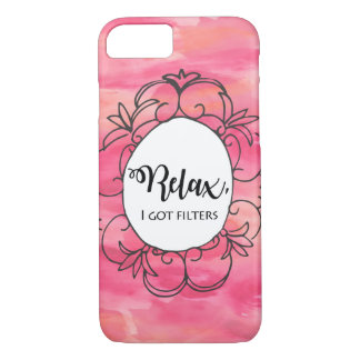 Relax I got filters iPhone 8/7 Case