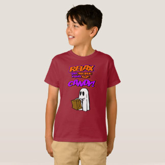 Relax I'm Here For The Candy Kids Halloween Shirt