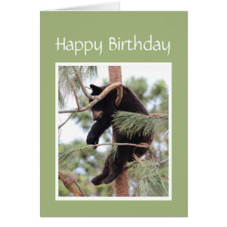Relax it's Your Birthday Bear for Anyone Stressed Card