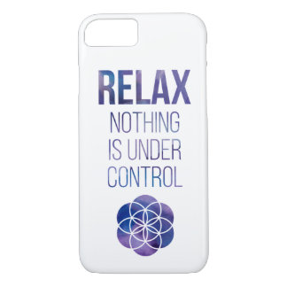 Relax Mindfulness Buddha Quote iPhone 8/7 Case