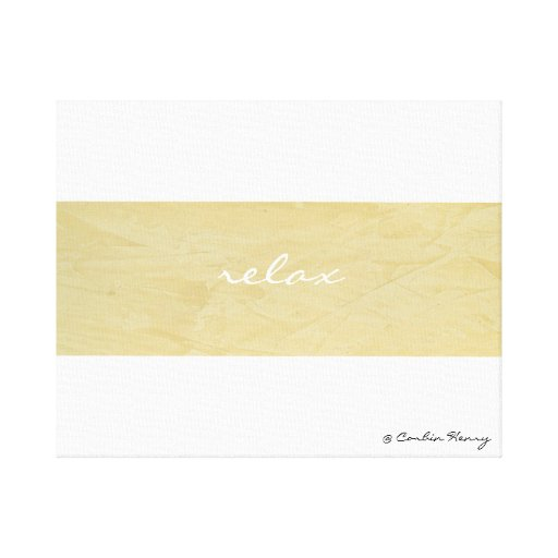 Relax Minimalism Canvas Art Print Stretched Canvas Prints