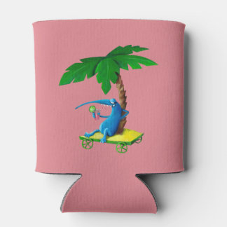 Relax on The Beach Can Cooler