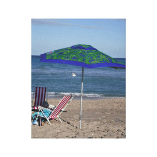 Relax On The Beach Canvas Print