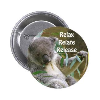Relax_ Pinback Buttons