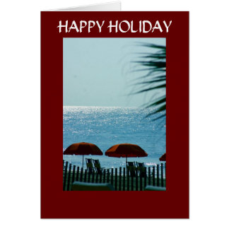 RELAX, REFRESH, RECHARGE-CHRISTMAS CARD