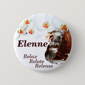Relax,Relate,Release_ 6 Cm Round Badge