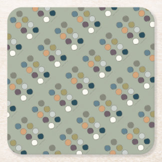 Relax-tones Square Paper Coaster