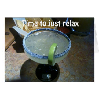 RELAX=TURNING 40 HUMOR CARD