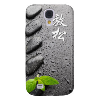 Relax.... Zen Stones with mint leaves 3G Case