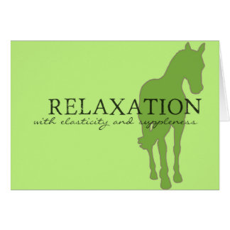 RELAXATION 5x7 GREETING CARD