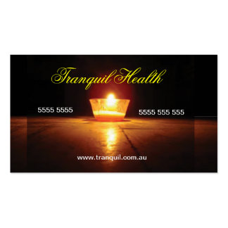Relaxation Business Card