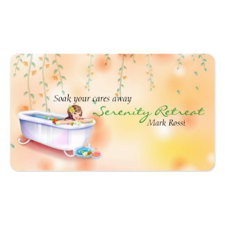 Relaxation Spa Pack Of Standard Business Cards